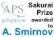 Smirnov Awarded Sakurai Prize