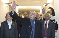 Italian President visits ICTP